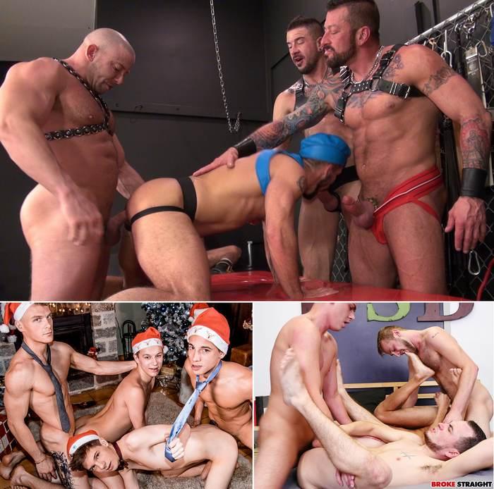 Gay Porn Orgy Fourway Fuckfest