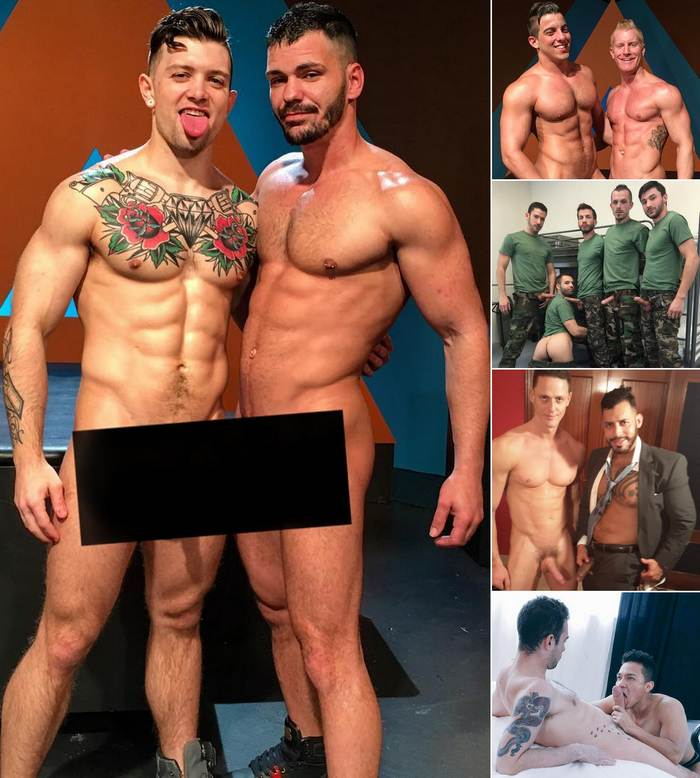 Gay Porn Stars Sebastian Kross Brogan Reed JohnnyV Jacob Taylor Viktor Rom