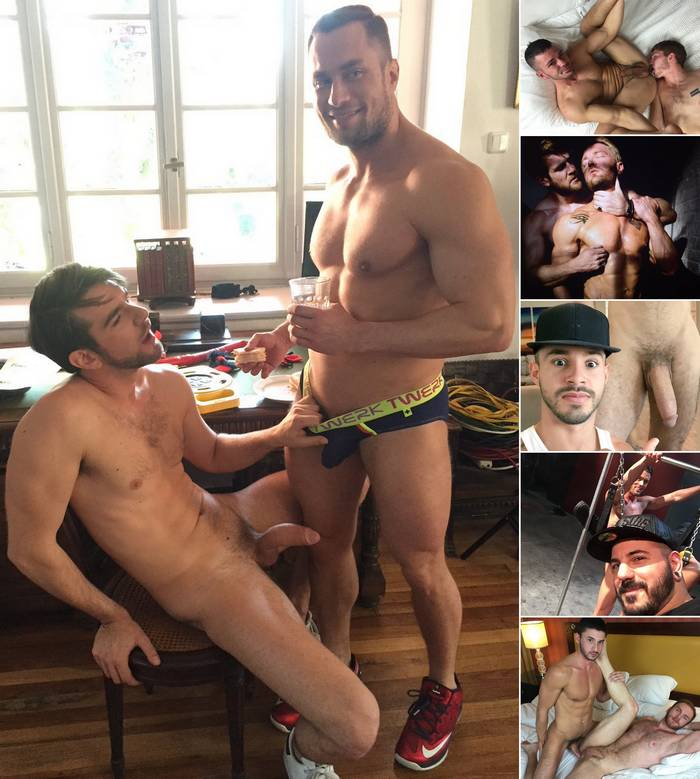 Gay Porn Stars Stas Landon Zander Craze Brogan Reed Will Wikle Rafael Lords Scott DeMarco