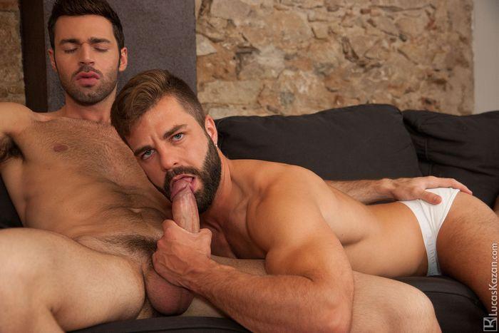 Hector de Silva Gay Porn Star Dario Beck LucasKazan