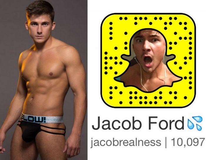 Jacob Ford Porter Sean Cody Gay Porn Star Snapchat Snapcode