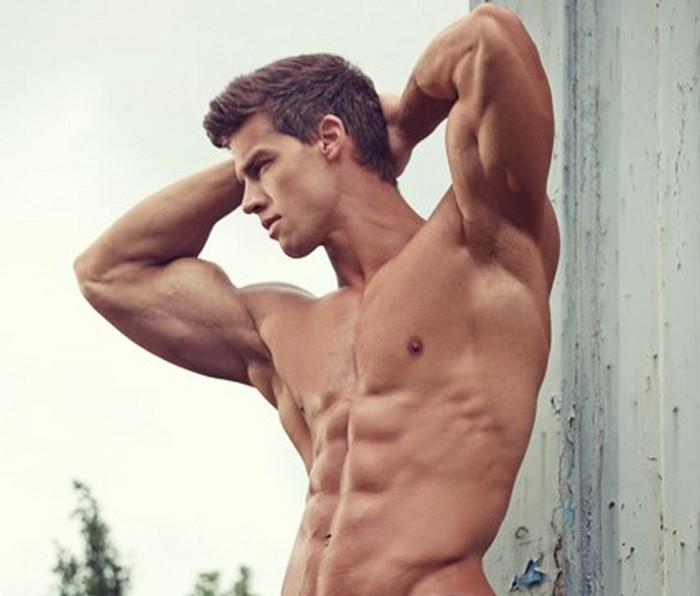 Kris Evans Gay Porn Star Muscle Jock Armpit