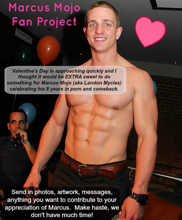 Landon Mycles Marcus Mojo Gay Porn Star Fan Project