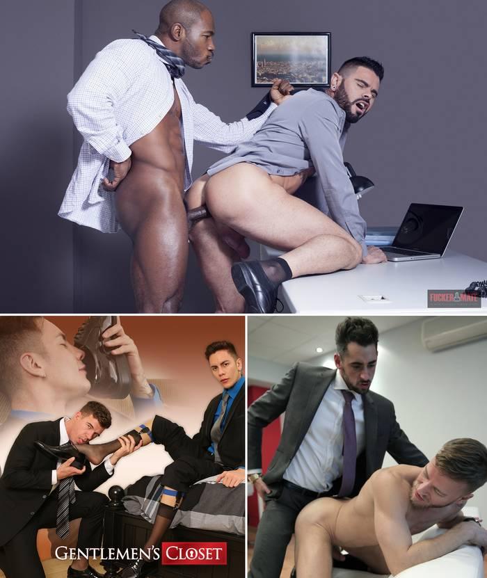 Suit Sex Gay Porn Menatplay Fuckermate Gentelmens Closet