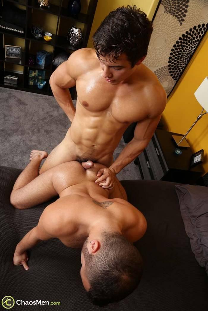 Amazing bareback action of latino gays 9