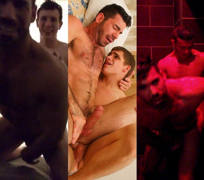 Billy Santoro Gay Porn Star Killian James Justin Kory Houston