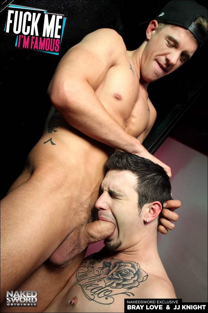 Bray Love Gay Porn Star JJ Knight Huge Cock Nakedsword