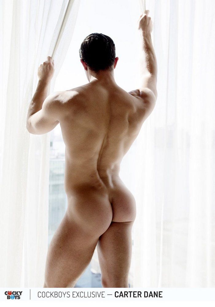 Models naked butts male
