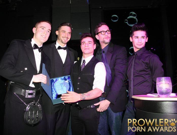 CockyBoys Gay Porn Stars Prowler Porn Awards 2015