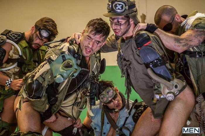 Gay Porn Mad Max Orgy Paddy OBrian Jay Roberts Damien Crosse Dario Beck Hector DeSilva