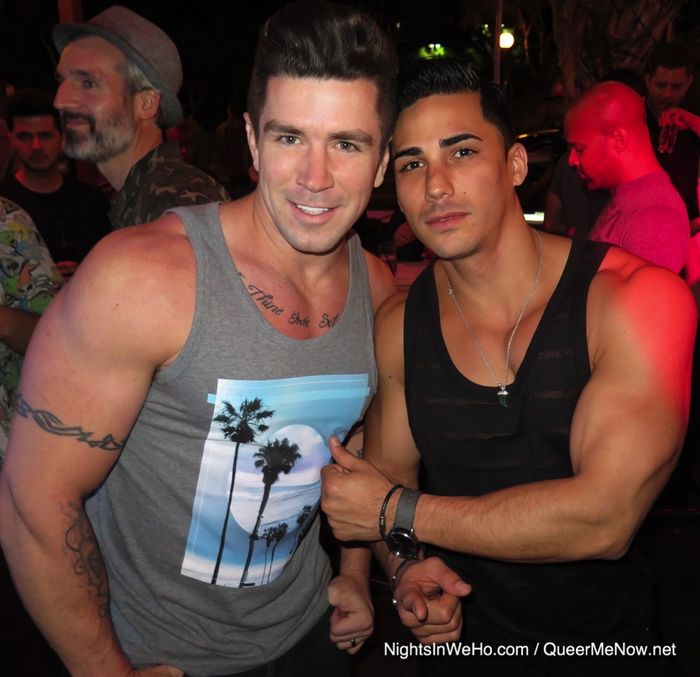 Gay Porn Stars Trenton Ducati Topher DiMaggio West Hollywood Mickys