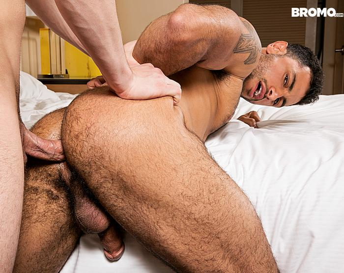 Nick West Gay Porn Star Hairy Ass Hunk Bareback Sex Johnny Rapid