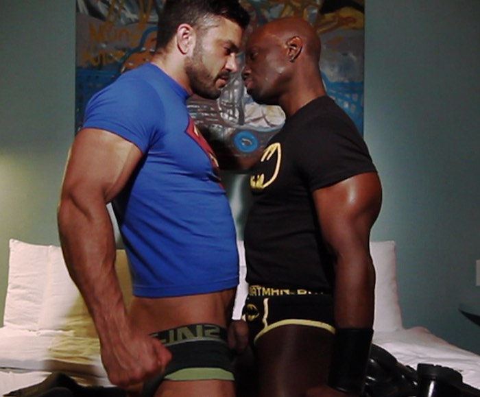 Batman Superman porno gay