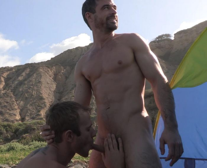 oral fucking at the public