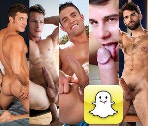 Snapchat Gay Porn Stars XXX