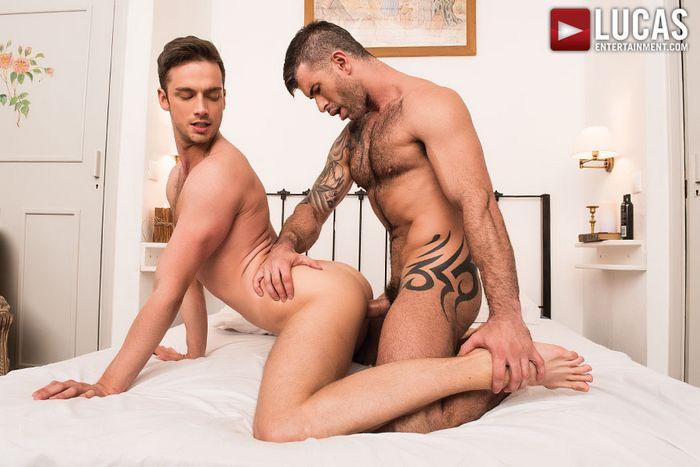 Adam Kilian Gay Porn Star Damon Heart Bareback Sex