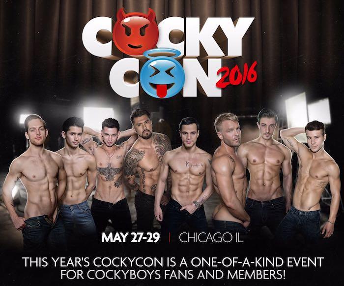 CockyCon 2016 Gay Porn Stars