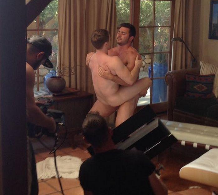 Derek Bolt Gay Porn Star Gabriel Cross Muscle Hunk FalconStudios2