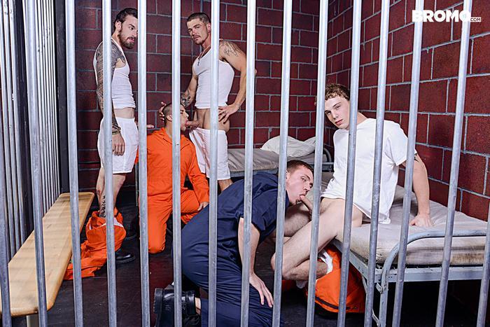 Gay Porn Prison Bareback Orgy 2