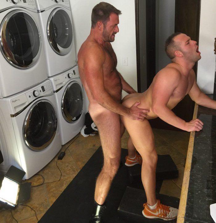 Luke Adams Gay Porn Star Anthony London TitanMen