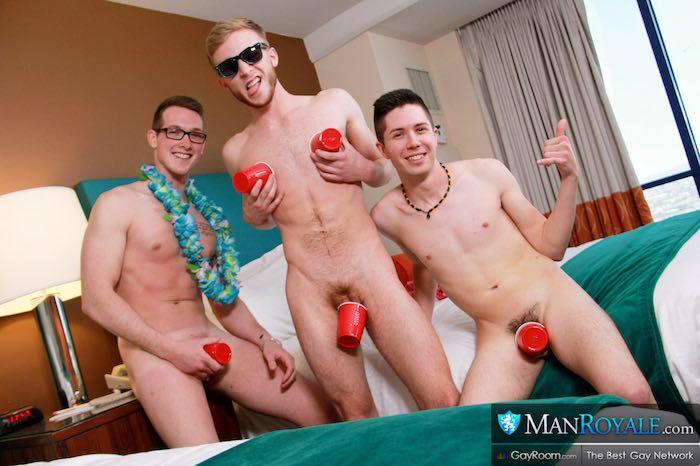 Straight Guys Spring Gay Porn Kyle Ryder Seth Stark Jackson Cooper 1