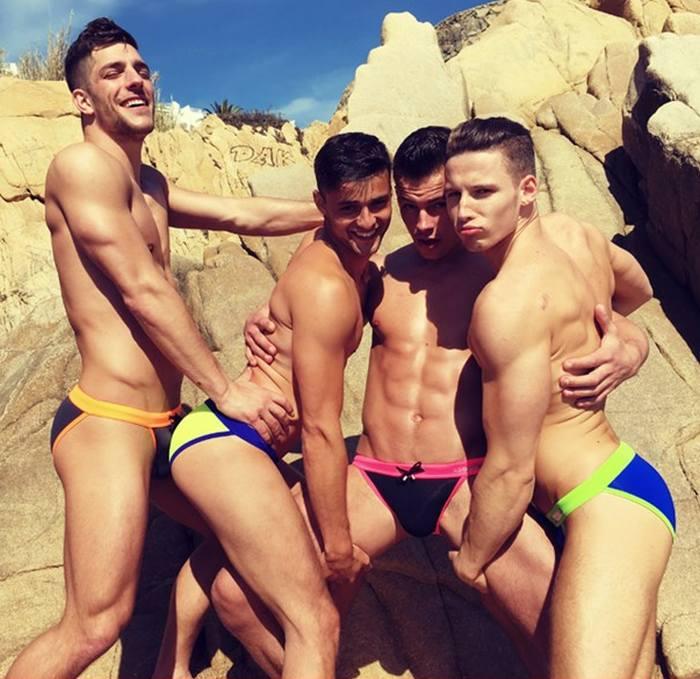 Gay swimwear porn
