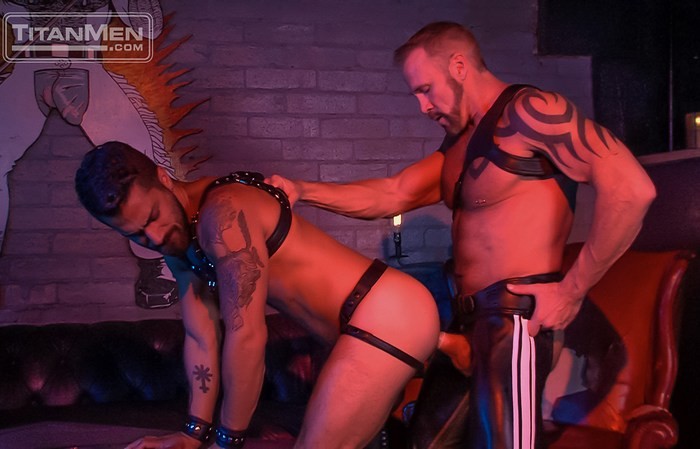 Dallas Steele Gay Porn Adam Ramzi TitanMen Rough Trade