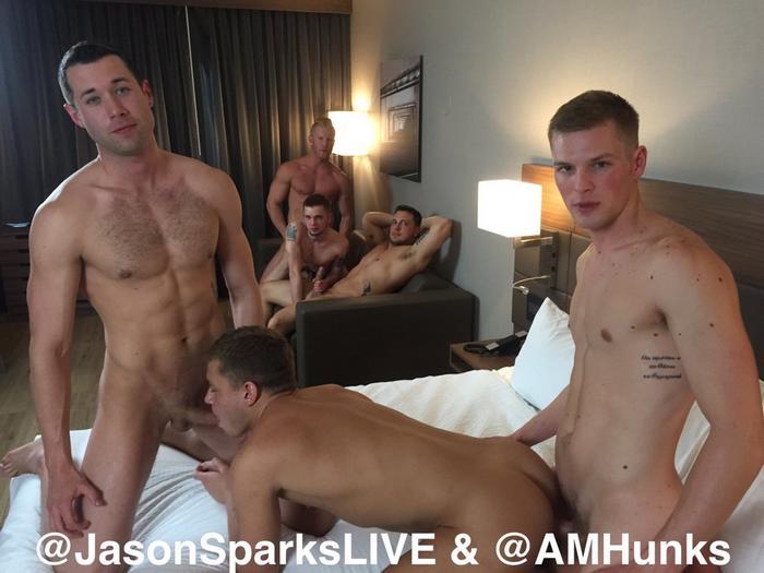 Gay orgy ian gives hayden a huge boycrush 5