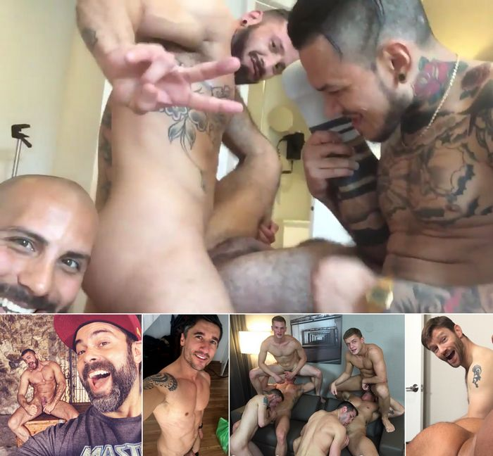 Gay Porn Star Antonio Miracle Emir Boscatto Dennis West