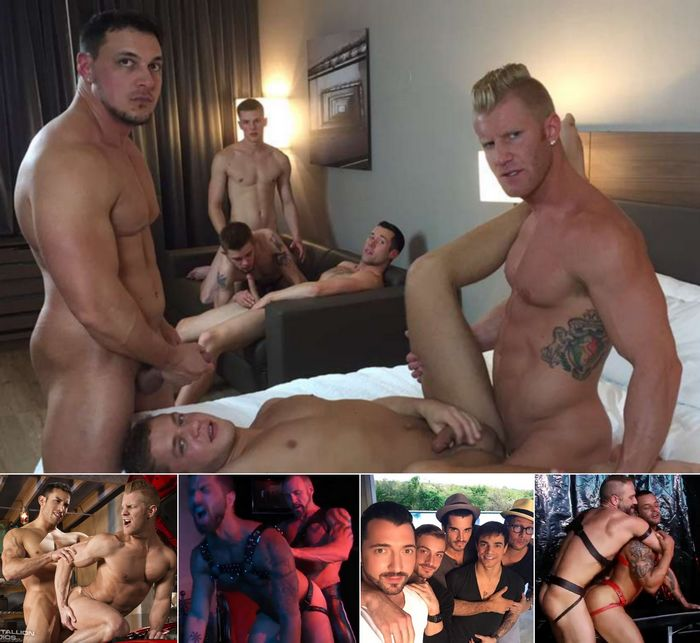 Gay Porn Star JohnnyV JoeyD Adam Ramzi Dallas Steele Jimmy Durano David Benjamin