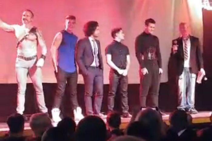 Gay Porn Star Trophy Boys Grabbys 2016
