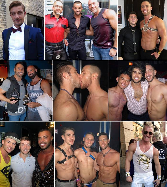 Gay Porn Stars Grabby Awards 2016