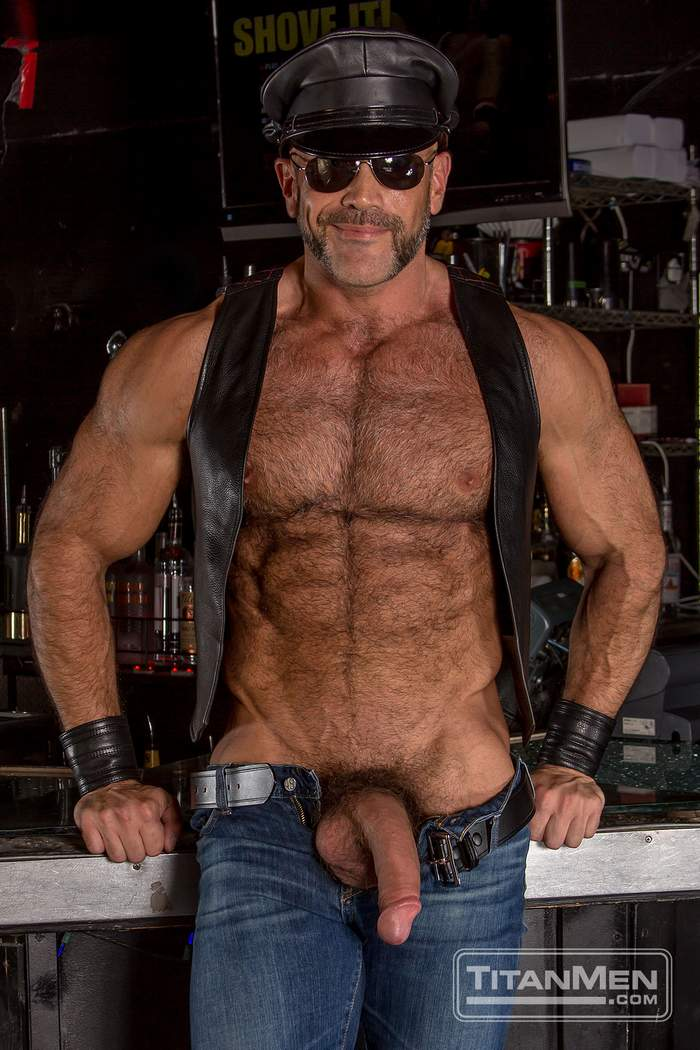 Leather Rough - Jesse Jackman Gay Porn Star Diesel Washington Rough Trade TitanMen a ...