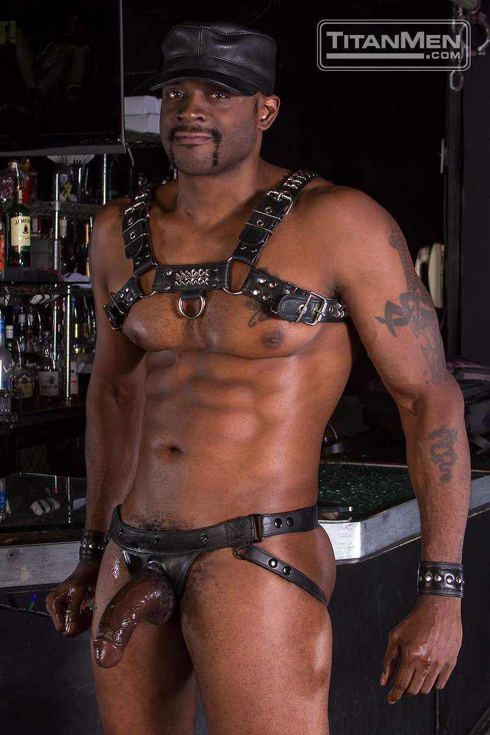 Leather Rough - ... Jesse Jackman Gay Porn Star Diesel Washington Rough Trade TitanMen b ...