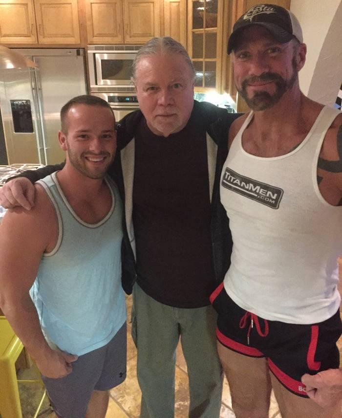 Luke Adams Dallas Steele Gay Porn TitanMen Joe Gage BTS