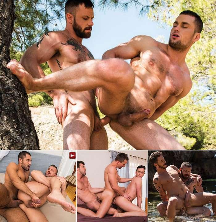 RAW RECRUITS Gay Porn Bareback Sex Stas Landon Sgt Miles Tomas Brand Andrey Vic Josh Rider