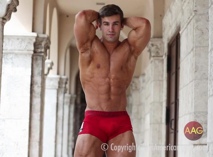Stu SeanCody Muscle Gay Porn Stat Jake B All American Guys Fitness Model 3