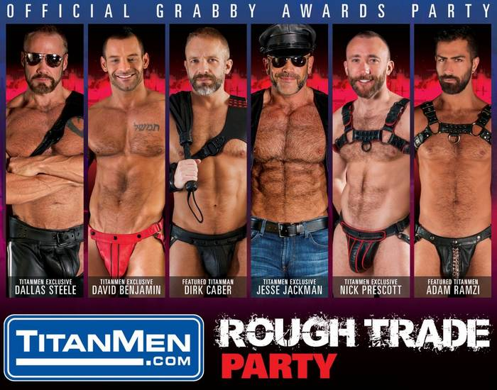 TitanMen Rough Trade Party Gay Porn Stars