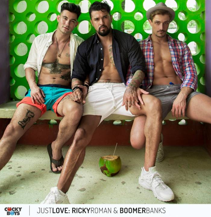 Boomer Banks Ricky Roman Carter Dane CockyBoys Just Love