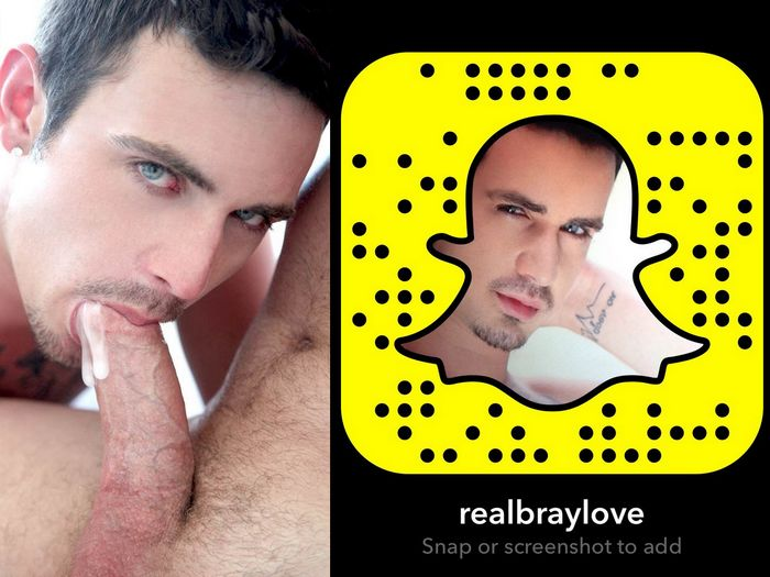 Bray Love Gay Porn Star Snapchat Snapcode