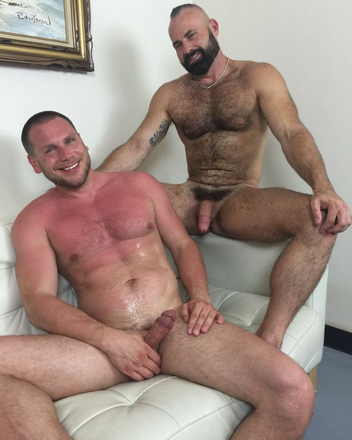 Collin ONeal Gay Porn Star Hans Berlin Raw Fuck Club 2016