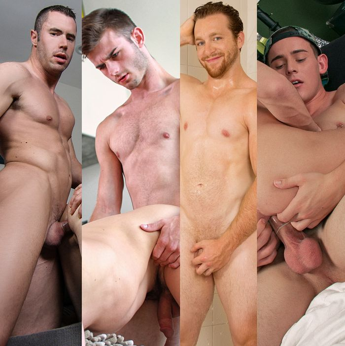 Gay Porn Hunks Vincent James Eddie Walker Josh Brady Ralph