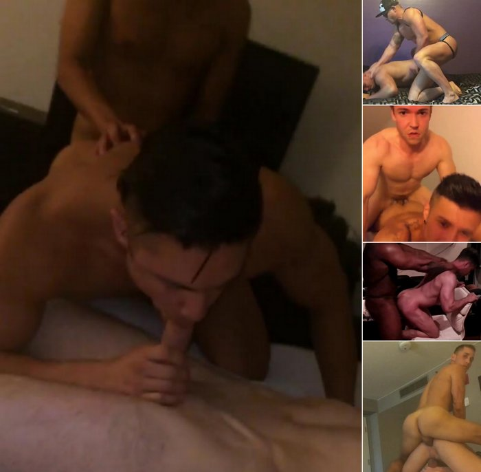 Gay Porn Star Sex Tape Seth Santoro Brogan Reed Gabriel Cross