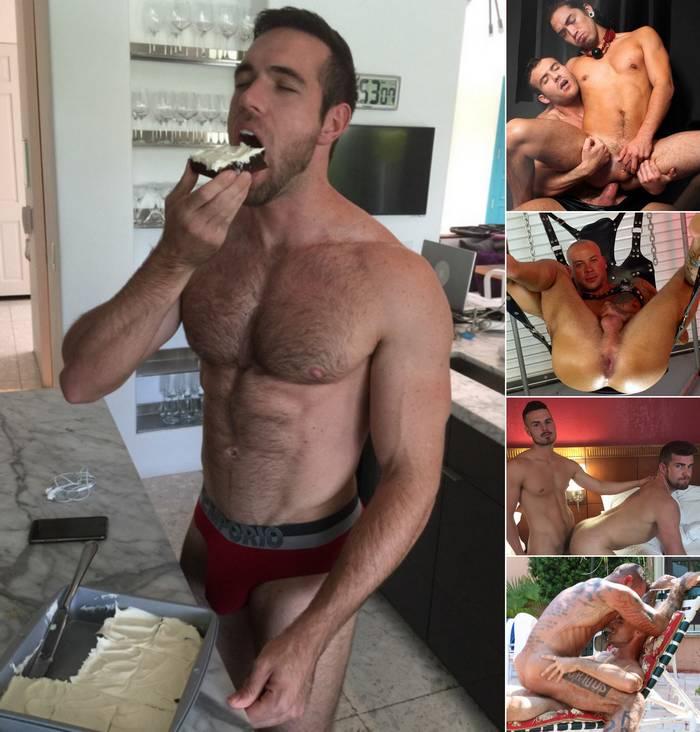 Gay Porn Stars Alex Mecum Killian James Sean Duran Christian Pierce