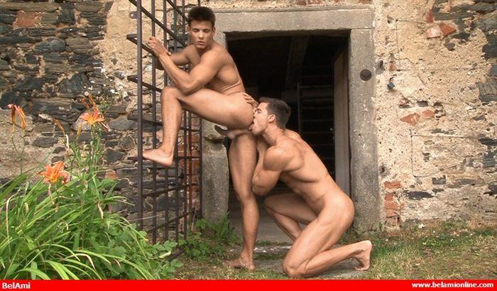 Kris Evans Gay Porn BelAmi Andrei Karenin Muscle Jock Bareback Sex XXX 4