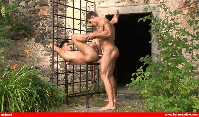 Kris Evans Gay Porn BelAmi Andrei Karenin Muscle Jock Bareback Sex XXX 6