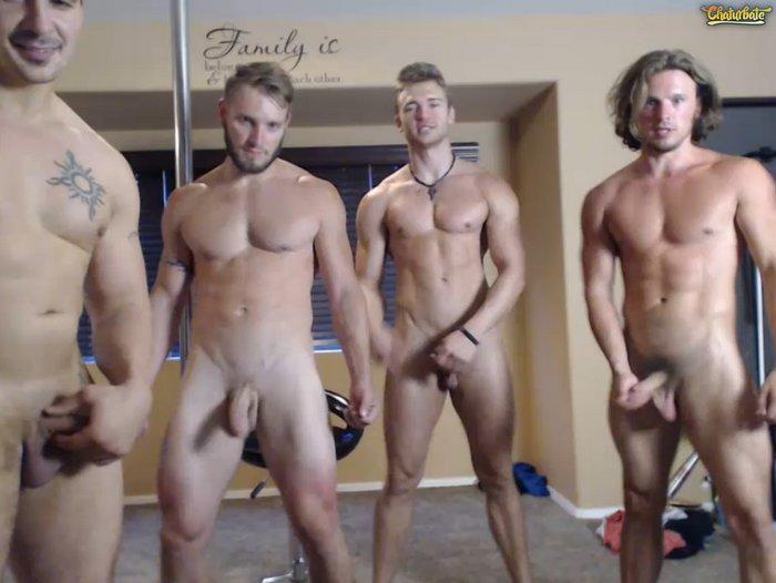 Large bodybuilder large bottoms