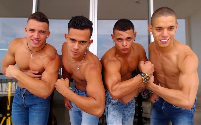 axel hades chris jean muscle hunk webcam models flirt4free