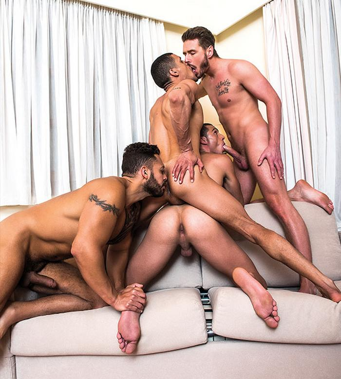 Bbw fucked by group