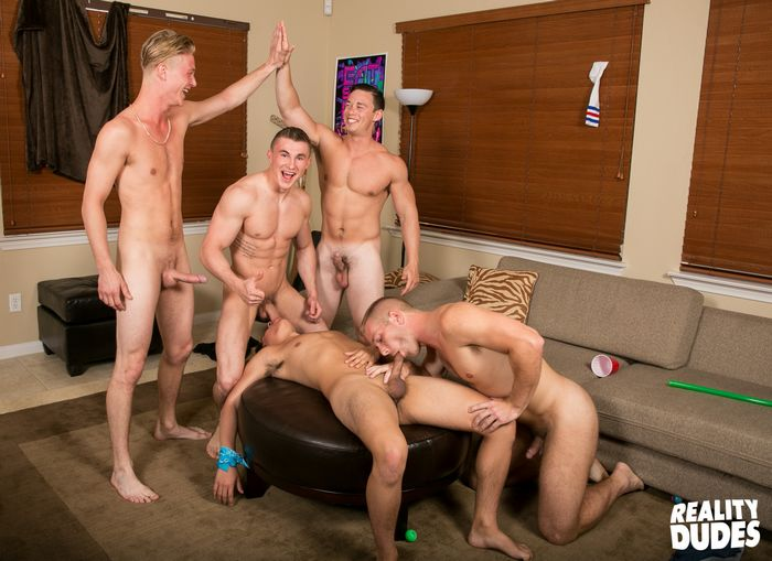Gay orgy jake guzzles dylan039s giant cock 5